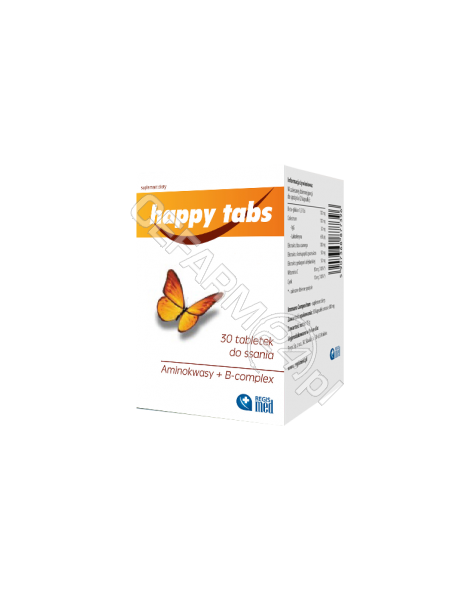 REGIS Happy tabs x 30 tabl do ssania