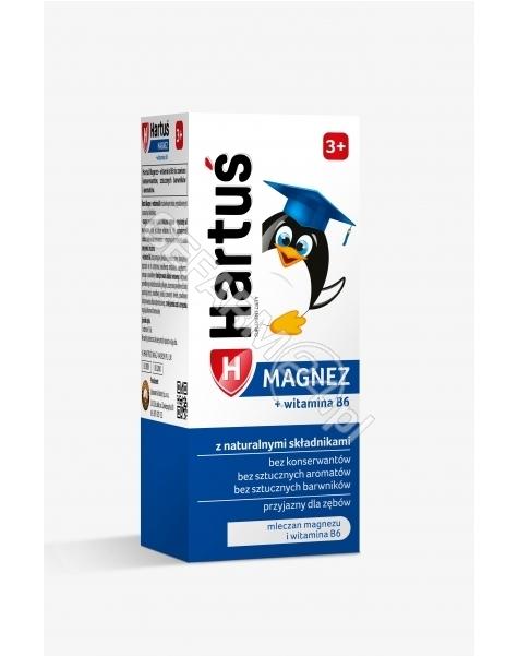 LABORATORIA NATURY SP Z O.O. Hartuś magnez + witamina B6 3+ syrop 120 ml