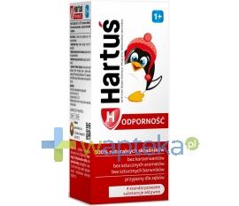 LABORATORIA NATURY SP Z O.O. Hartuś odporność 1+ syrop 120 ml