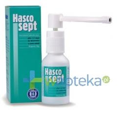 HASCO-LEK PPF Hascosept płyn w atomizerze 30g