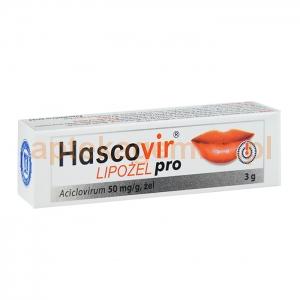 HASCO-LEK Hascovir Lipożel Pro, żel 0,05g/1g, 3g