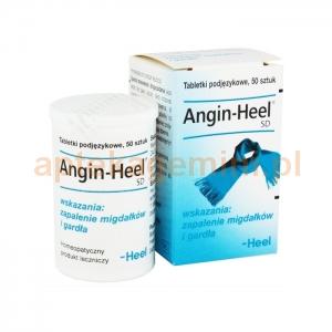HEEL HEEL, Angin-Heel SD, 50 tabletek podjęzykowych