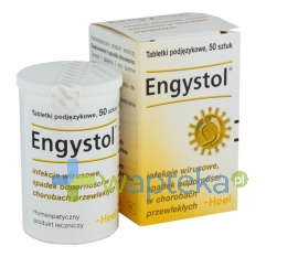 BIOLOGISCHE HEILMITTEL HEEL GMBH HEEL Engystol siły obronne 50 tabletek