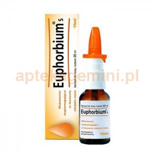 HEEL HEEL, Euphorbium S, aerozol leczniczy, 20ml