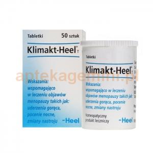 HEEL POLSKA SP. Z O.O. HEEL Klimakt-Heel T 50 tabletek