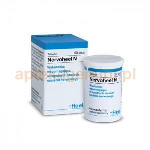 HEEL HEEL, Nervoheel N, 50 tabletek podjęzykowych