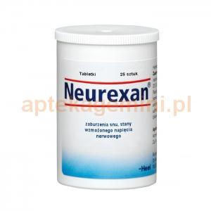 HEEL HEEL, Neurexan, 25 tabletek