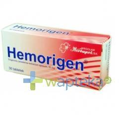 WZZ Hemorigen 30 tabletek