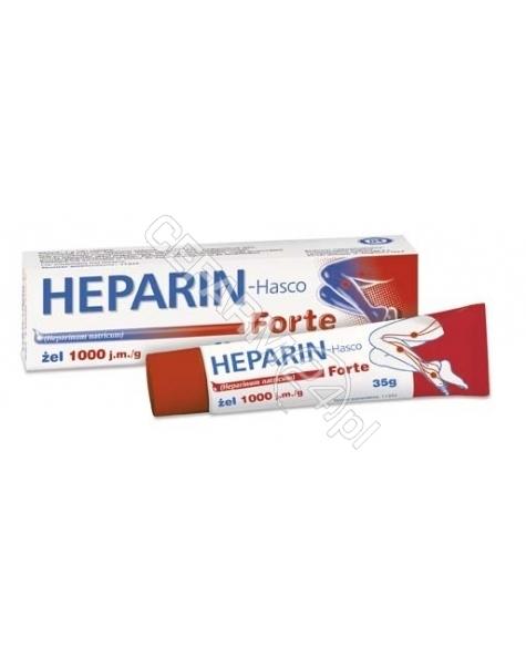 HASCO-LEK Heparin-hasco forte żel 35 g