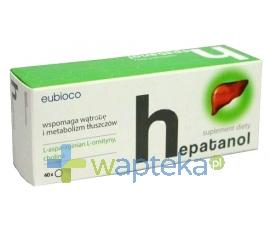 GALENA Hepatanol 40 tabletek