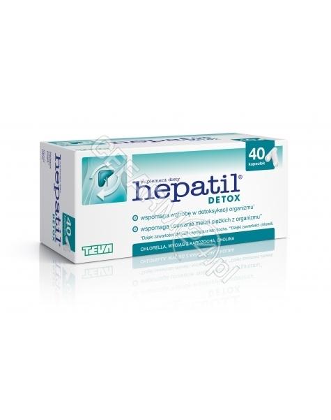 TEVA Hepatil detox x 40 kaps