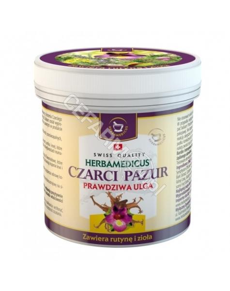 HERBAMEDICUS Herbamedicus Czarci pazur balsam ziołowy z rutyną i ziołami 250 ml