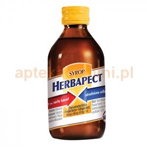 Aflofarm Herbapect, syrop bez cukru, 125ml (150g)