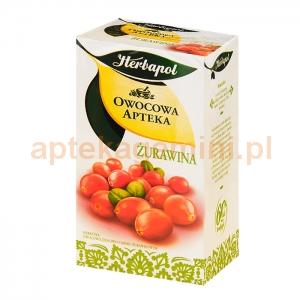 HERBAPOL LUBLIN Herbata Owocowa Apteka, Żurawinowa, 20 saszetek