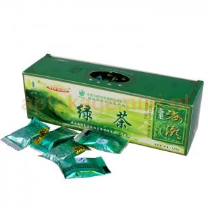 MERIDIAN Herbata zielona prasowana w kostkach, 125g (40 kostek)