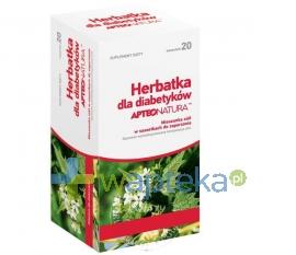 SYNOPTIS PHARMA SP. Z O.O. Herbatka dla diabetyków APTEO NATURA 20 saszetek