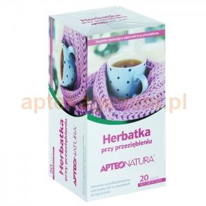 SYNOPTIS PHARMA Herbatka przy przeziębieniu, ApteoNatura, 20 saszetek