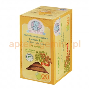 ARTIFEX Herbatka wspomagająca trawienie Bio, Na apetyt, od 4. miesiąca życia, 20 saszetek