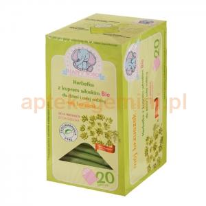 ARTIFEX Herbatka z koprem włoskim Bio, Mój brzuszek, od 4 miesiąca życia, 20 saszetek OKAZJA