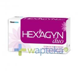 HEXANOVA SP. Z O.O. Hexagyn Duo globulki dopochwowe 10 sztuk