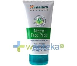 THE HIMALAYA DRUG CO. HIMALAYA NEEM FACE PACK Maska z Miodly Indyjskiej do cery trądzikowej 75 ml + 25%GRATIS