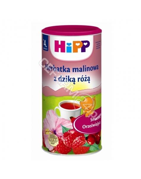 HIPP Hipp herbatka malinowa z dziką różą 200 g