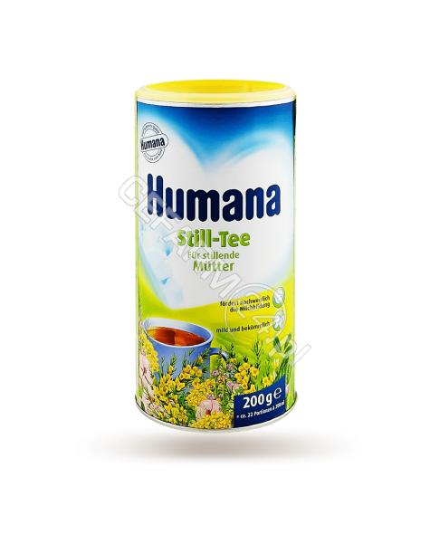 HUMANA Humana herbatka dla karmiących mam z witaminą c 200 g
