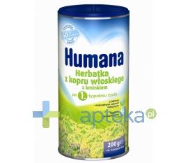 HUMANA GMBH HUMANA Herbatka z kopru włoskiego z kminkiem granulat 200g
