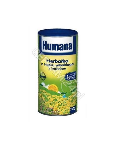 HUMANA Humana herbatka z kopru włoskiego z kminkiem i laktozą 200 g