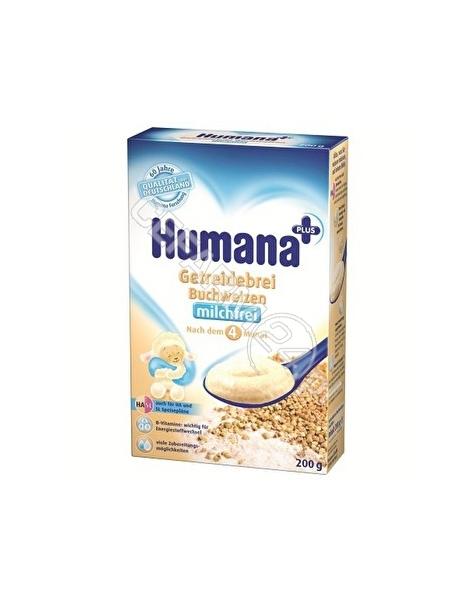HUMANA Humana kaszka bezmleczna HA/SL gryczana 200g