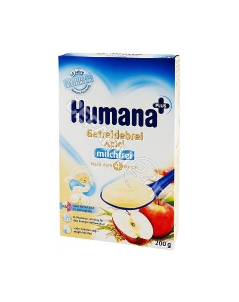 HUMANA Humana kaszka bezmleczna HA/SL ryżowo-kukurydziana z jabłkami 200g