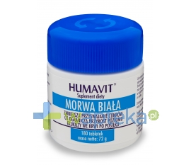 VARIA SP. Z O.O. Humavit Morwa Biała 180 tabletek