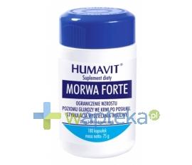 VARIA SP. Z O.O. Humavit Morwa Forte 180 kapsułek - Krótka data ważności - do 30-01-2016