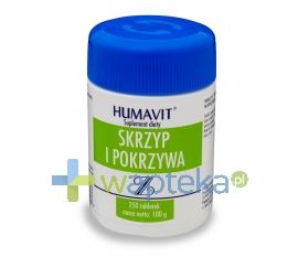 VARIA SP. Z O.O. Humavit Z drożdże piwne ze skrzypem i pokrzywą 250 tabletek
