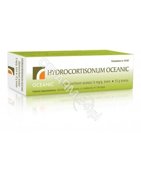 OCEANIC Hydrocortisonum Oceanic krem 15 g