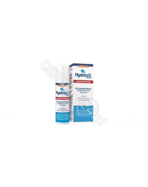 SEQUOIA Hydrosil (Flamozil) leczenie oparzeń żel 75 g
