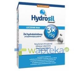 SEQUOIA SP. Z O.O. Hydrosil leczenie ran 3 x 75 g żel 225 g