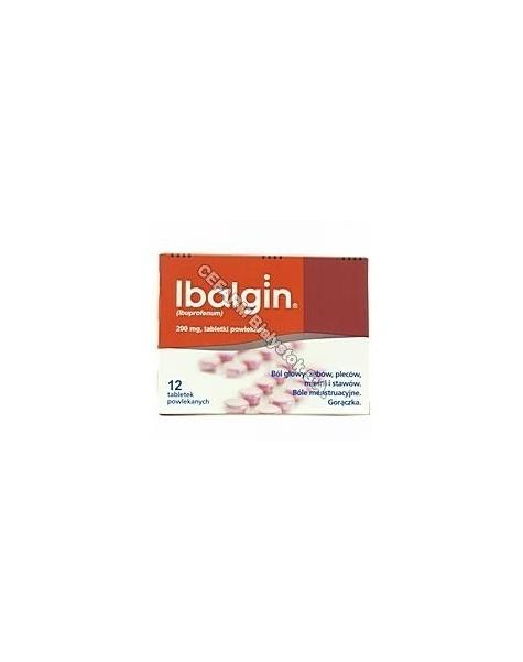ZENTIVA Ibalgin 200 mg x 12 tabl powl