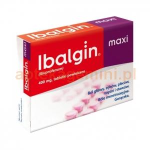 ZENTIVA Ibalgin Maxi 400mg, 24 tabletek powlekanych