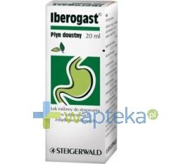STEIGERWALD ARZNEIMITTELWERK GMBH Iberogast płyn doustny 20 ml