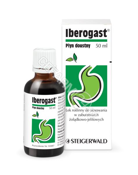 STEIGERWALD ARZNEIMITTELWERK GMBH Iberogast płyn doustny 50 ml