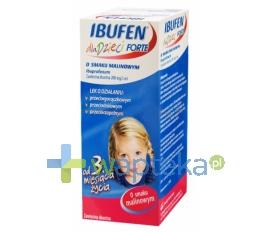 ZAKŁADY FARMACEUTYCZNE POLPHARMA S.A. Ibufen dla dzieci Forte malinowy 40ml
