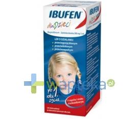 MEDANA PHARMA SPÓŁKA AKCYJNA Ibufen dla dzieci zawiesina doustna truskawka 100ml