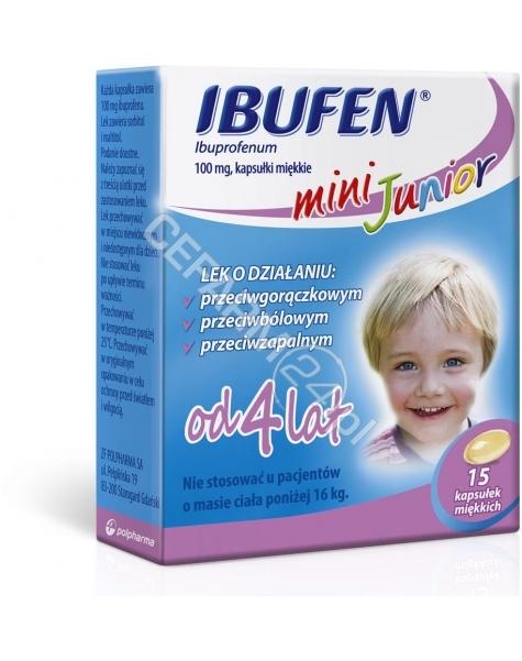 POLPHARMA Ibufen mini junior 100 mg x 15 kaps
