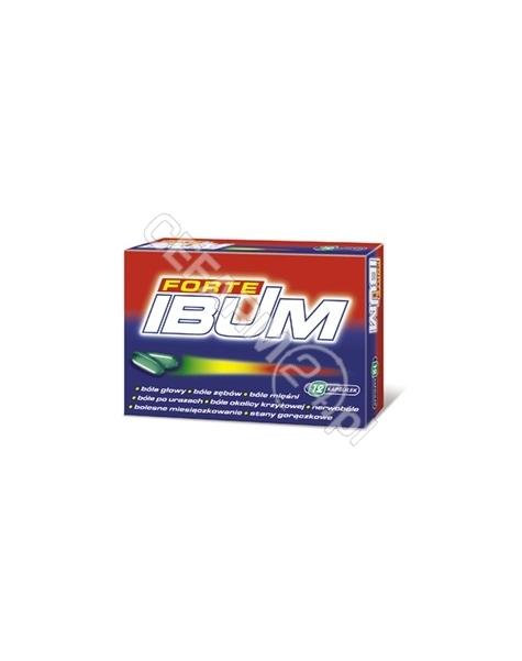 HASCO-LEK Ibum forte 400 mg x 12 kaps