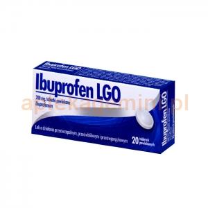LABORATORIUM GALENOWE OLSZTYN Ibuprofen LGO 200mg, 20 tabletek