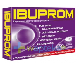 US PHARMACIA SP. Z O.O. Ibuprom 10 tabletek