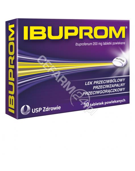 US PHARMACIA Ibuprom 200 mg x 10 tabl powlekanych