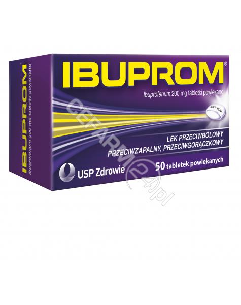 US PHARMACIA Ibuprom 200 mg x 50 tabl powlekanych