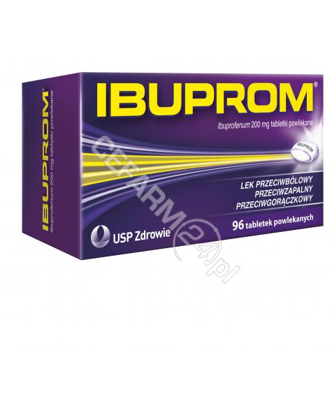US PHARMACIA Ibuprom 200 mg x 96 tabl powlekanych